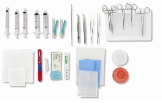 kit per l'inserimento di cateteri ombelicali