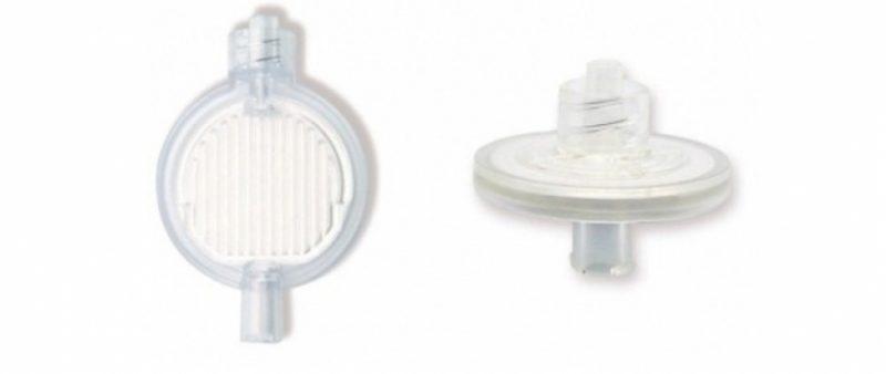 Filtro piatto per anestesia peridurale
