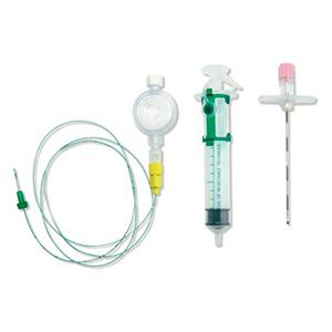 Set per anestesia peridurale con filtro piatto e siringa LR